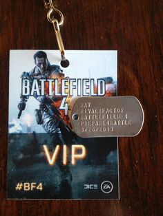 Custom Battlefield 4 Dog Tags from EA/DICE for Rivalxfactor