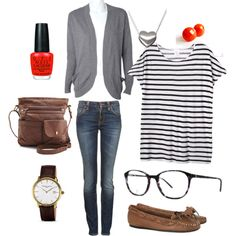 """""""A casual day outfit"""" by fallingstitches on Polyvore"""