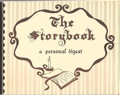 The Storybook: A Personal Digest, Writing Journal For A Family Spiral Bound Pb