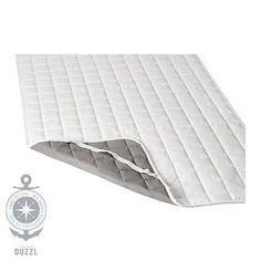 IKEA ROSENDUN Matratzenschoner in weiß; (180x200cm) Matratzenschutz Auflage