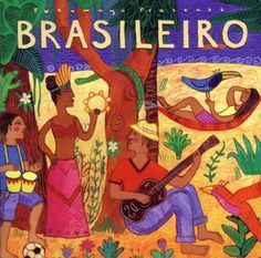 Arts: Brazil has many different arts like music, dance, sculpting, painting, pottery, literature, and architecture.  All these activities are influenced by African arts.The picture above shows an album of music, which shows that they combine african influences into it.