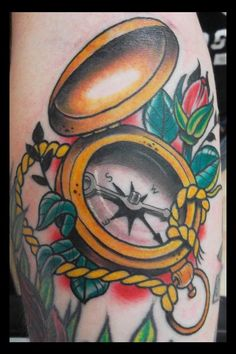 Go into all the world and preach the gospel! compass tattoo