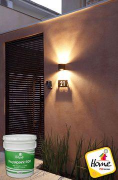 Front door entrance lighting ideas for 2019 Entrance Lighting, Facade Lighting, Outdoor Wall Lighting, Exterior Lighting, Lighting Design, Outdoor Walls, Design Exterior, Exterior House Colors, Modern Exterior