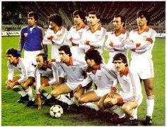 EQUIPOS DE FÚTBOL: SEVILLA contra Atlético de Madrid 24/02/1980