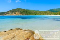 Cala Pira Beach, Cagliari in South Sardinia