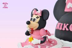 Torta myška Minnie a Mickeyho klubík | Torty pre deti Žilina - detské, marcipánové, 3D, a iné torty na objednávku