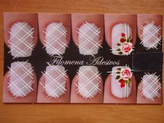 Filomena adesivos para unhas R$ 7,01 Pedicure, Nail Designs, Projects To Try, Make Up, Gift Wrapping, Nail Art, Nails, Gisele, Inspiration