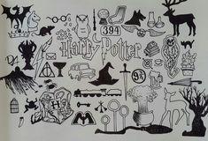Drawing Harry Potter Symbols Hogwarts 55 Ideas For 2019 Harry Potter Fan Art, Harry Potter Journal, Harry Potter Sketch, Harry Potter Symbols, Harry Potter Drawings, Harry Potter Tattoos, Harry Potter Quotes, Harry Potter Bricolage, Desenhos Harry Potter
