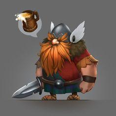 chibi viking character concept - Google Search