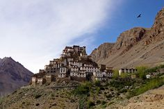 Key Monastery is Buddhist monastery located on top of a hill at an altitude of metres above sea level, in Lahaul Spiti district of Himachal Pradesh in north India. Also known as Key Gompa. Honeymoon Packages, India Tour, Hill Station, Tourist Places, 2 Instagram, Tour Operator, Incredible India, Travel Photos, Monument Valley