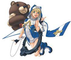 Bridget - Character design and Art - Guilty Gear Isuka
