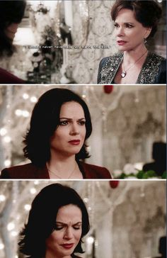 One of the most heart breaking, complex, and layered scenes ever on the show. Amazing characters and acting tour de force by both of these ladies. How has Lana Parilla not gotten an Emmy for this show yet? Once Upon A Time, Ouat, Robin Hood Bbc, Swan Queen, Regina Mills, A Series Of Unfortunate Events, Sherlock Bbc, Best Tv, Favorite Tv Shows