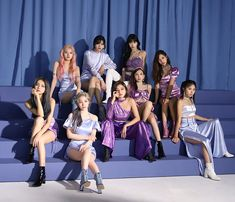 "K-Pop Sensation Twice Tells Us About Their Bond With Once Managing Stress And The Impact Of ""Feel Special"" Nayeon, Kpop Girl Groups, Korean Girl Groups, Kpop Girls, Extended Play, Mamamoo, K Pop, Bts Jungkook, People"