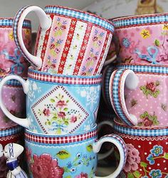 Shabby Chic Mugs