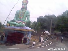 Anchaneyar Temple in Chennai by-pass