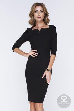 Классическое платье футляр из костюмной ткани в интернет-магазине дизайнера. | Skazkina