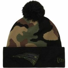 3e908e2e1d2 BNWT Rare New England Patriots New Era Knit CAMO hat  NewEra  NewEnglandPatriots  New England