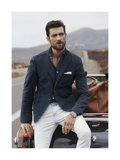 # fashion for men # men's style # men's fashion # men's wear # mode homme Gentleman Mode, Gentleman Style, Dapper Gentleman, Sharp Dressed Man, Well Dressed Men, Estilo Gangster, Weekend Getaway Outfits, Casual Weekend, Stylish Men