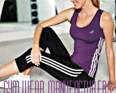 Gym wear manufacturers can directly cater you with your requirements- whether you want gym wear for men, women or children, or be it of any color or material of your preference.
