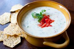 Mexican Dipping Cheese. This is that WONDERFUL white cheese that you can't get enough of at your favorite Mexican restaurant!