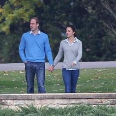 After days of formality on their royal tour of Australia, Kate and William enjoy a day off in Canberra