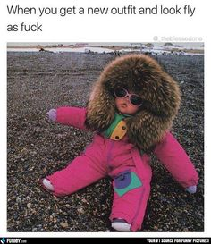 When you get a new outfit and look fly af (Funny People Pictures) - #fly #outfit