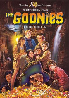 The Goonies . Goonies never say die! The Goonies ROCK! Film Music Books, Music Tv, Bon Film, Cinema Tv, See Movie, The Girl Movie, The Thing Movie, Movies Worth Watching, Family Movies