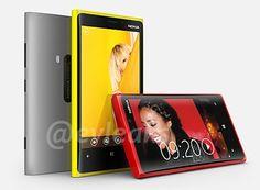 New Nokia Lumia 920 and 820 Images leaked.