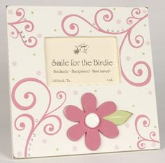 Elegant Flower Tabletop Picture Frame