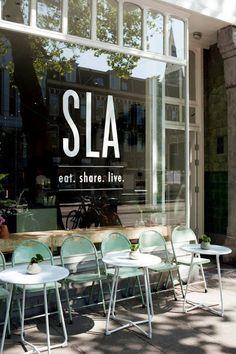 Amsterdam : Sla, bar à salades                     Daar wil wel gaan eten!
