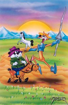 Don Coyote e Sancho Panda