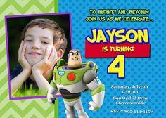 Toy Story Buzz Lightyear Birthday Party por PrettyPaperPixels