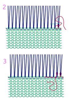 Marina battaglia bmarinaaaa on pinterest rammendo maglia su fili verticali 2 e 3 fandeluxe Gallery
