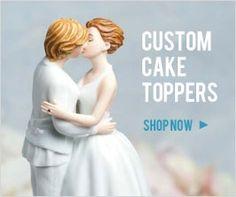 lesbian cake toppers lesbian-wedding-photos
