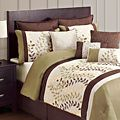 Green and Chocolate 12-piece Comforter Set | Overstock.com