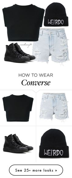 """Weirdo"" by avonsblessing94 on Polyvore featuring Ksubi, Converse, adidas Originals, women's clothing, women's fashion, women, female, woman, misses and juniors"