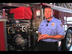 Midland Fire Department's New Aerial Ladder Truck - YouTube