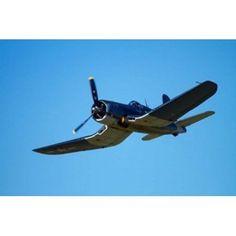 Goodyear Corsair FG-1D whispering death fighter bomber Canvas Art - David Wall DanitaDelimont (36 x 24)