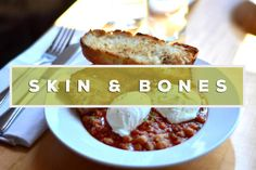 Sally and I ventured east to Leslieville for brunch. We wanted to avoid the insane line-ups during this time of day and found Skin + Bones. With good reviews and no visible line outside the restaur...