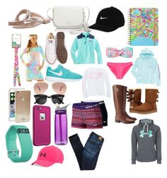 """""""Wish list """" by amypavon on Polyvore featuring Jack Rogers, Lilly Pulitzer, Converse, Kate Spade, NIKE, Ray-Ban, Tory Burch, LifeProof, CamelBak and Fitbit"""