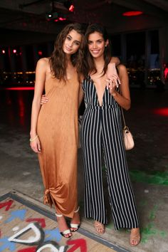 Taylor Hill and Sara Sampaio
