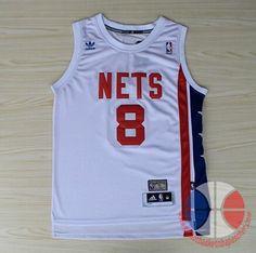 maillot basket nba Brooklyn Netss Williams  8 Blanc retro mesh tissu €22.90 a6fff52bcc385
