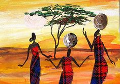 paintings of african landscapes African, Color, Lighting Design, Landscapes, Paintings, Art, Google Search, Idea Paint, Light Design