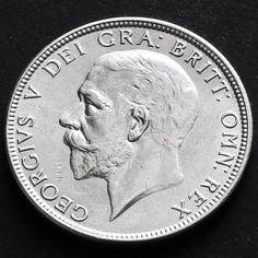 1929 George V Silver Florin GEF / AUNC