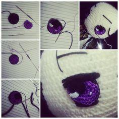 Eyes   #amigurumi #crochetdoll #handmade