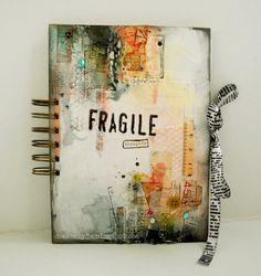 Beautiful! I want to make/ fi̲n̲i̲s̲h̲  an art journal so bad.