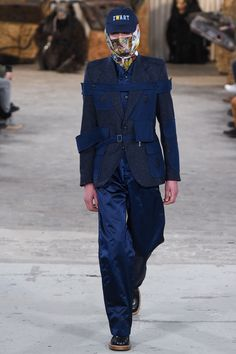 Walter Van Beirendonck Fall 2017 Menswear Collection Photos - Vogue