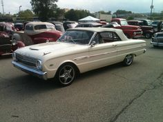'63 Ford Falcon Sprint convertible