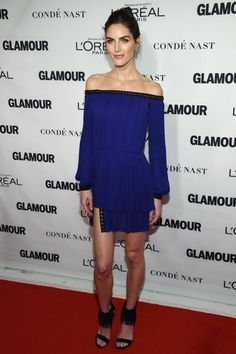 Pin for Later: Seht all' die Girl Power bei den Glamour Awards Hilary Rhoda