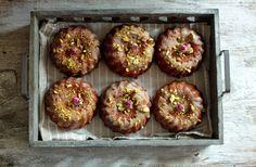 .: Babeczki kasztanowo orzechowe z jabłkami (bezglutenowe) czyli moje zwycięskie ciasto